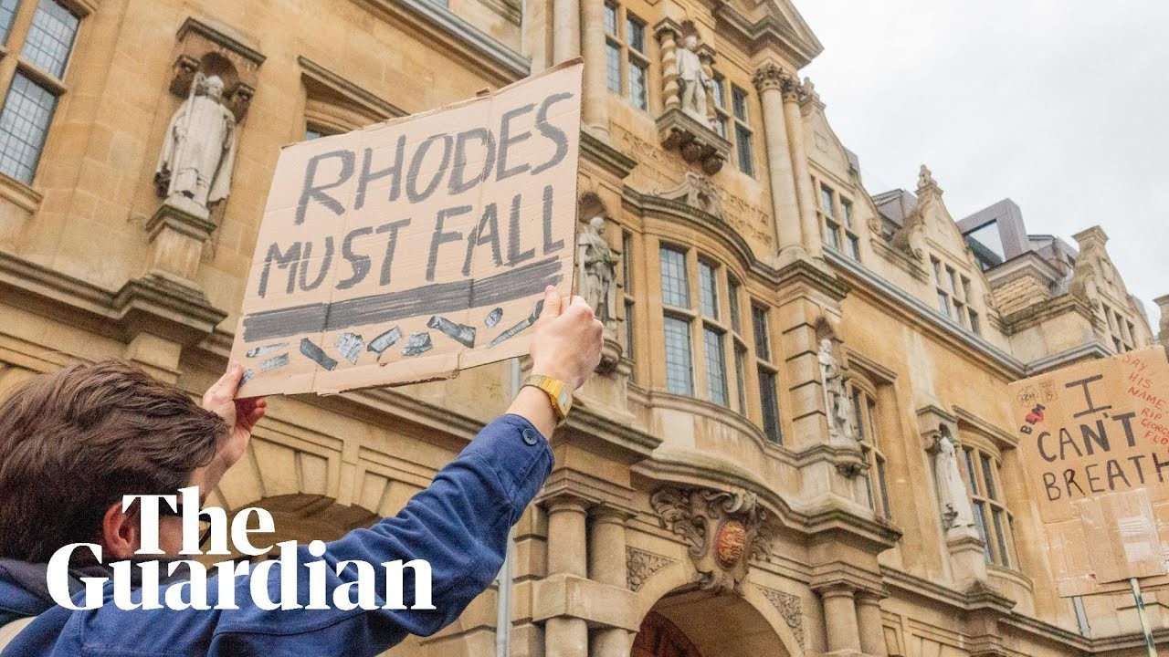 Rhodes must fall: Oxford protesters call for removal of statue