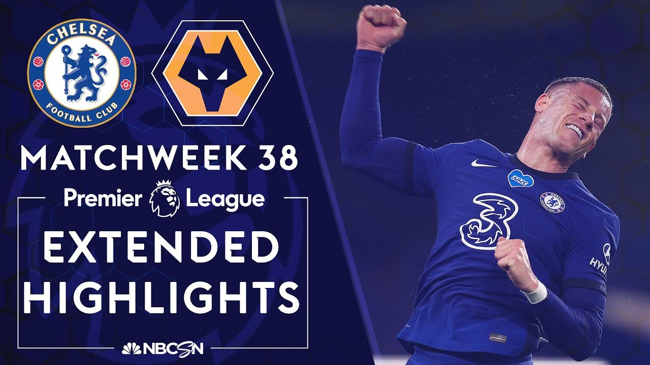 Chelsea v. Wolves | PREMIER LEAGUE HIGHLIGHTS | 7/26/2020 | NBC Sports