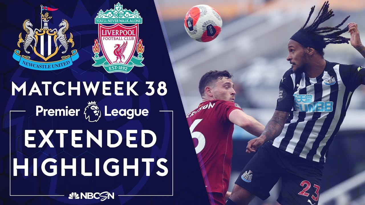 Newcastle v. Liverpool | PREMIER LEAGUE HIGHLIGHTS | 07/26/2020 | NBC Sports