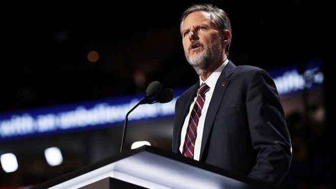Jerry Falwell Jr to take leave of absence after racy photo