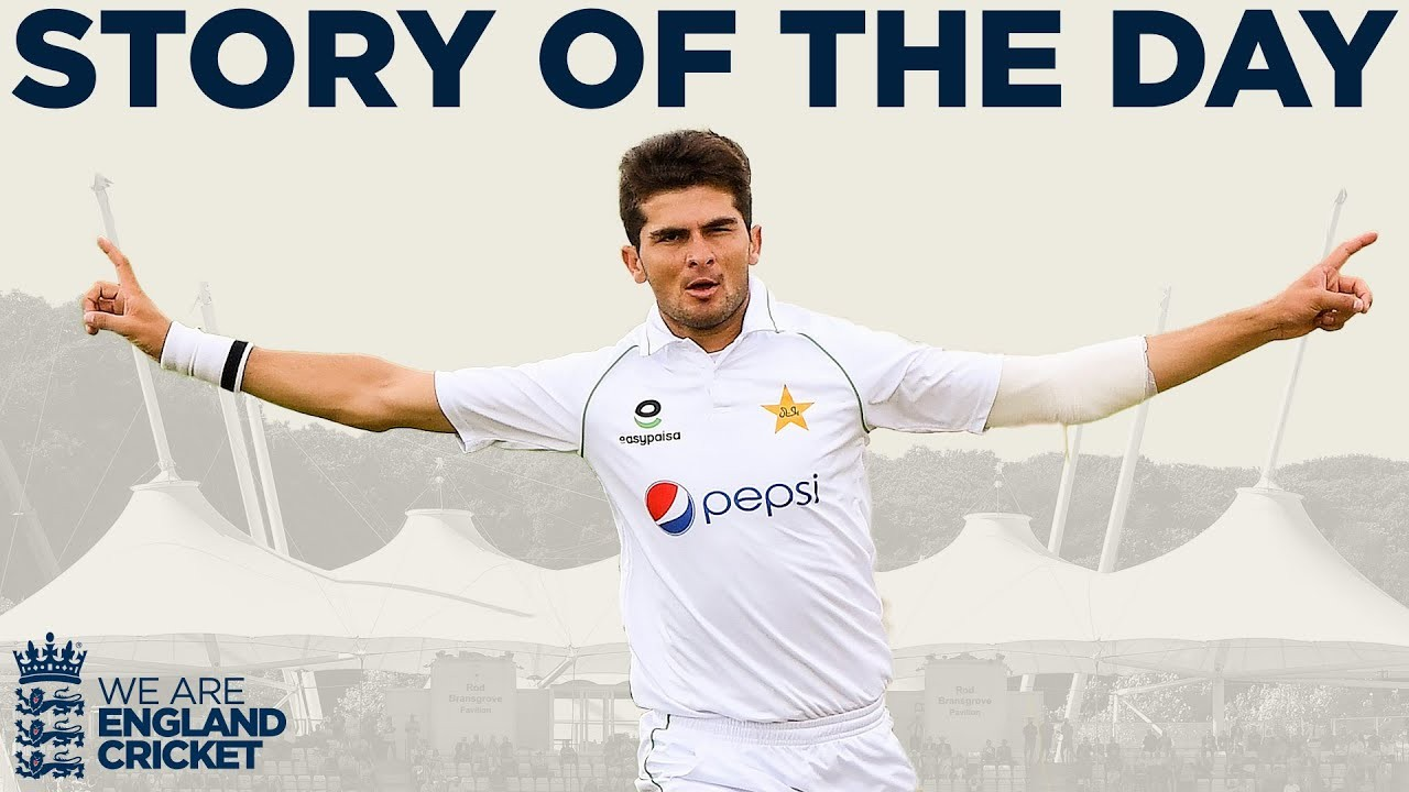 Shaheen Makes Early Strike Before Rain | England v Pakistan 2nd Test Day 4 2020