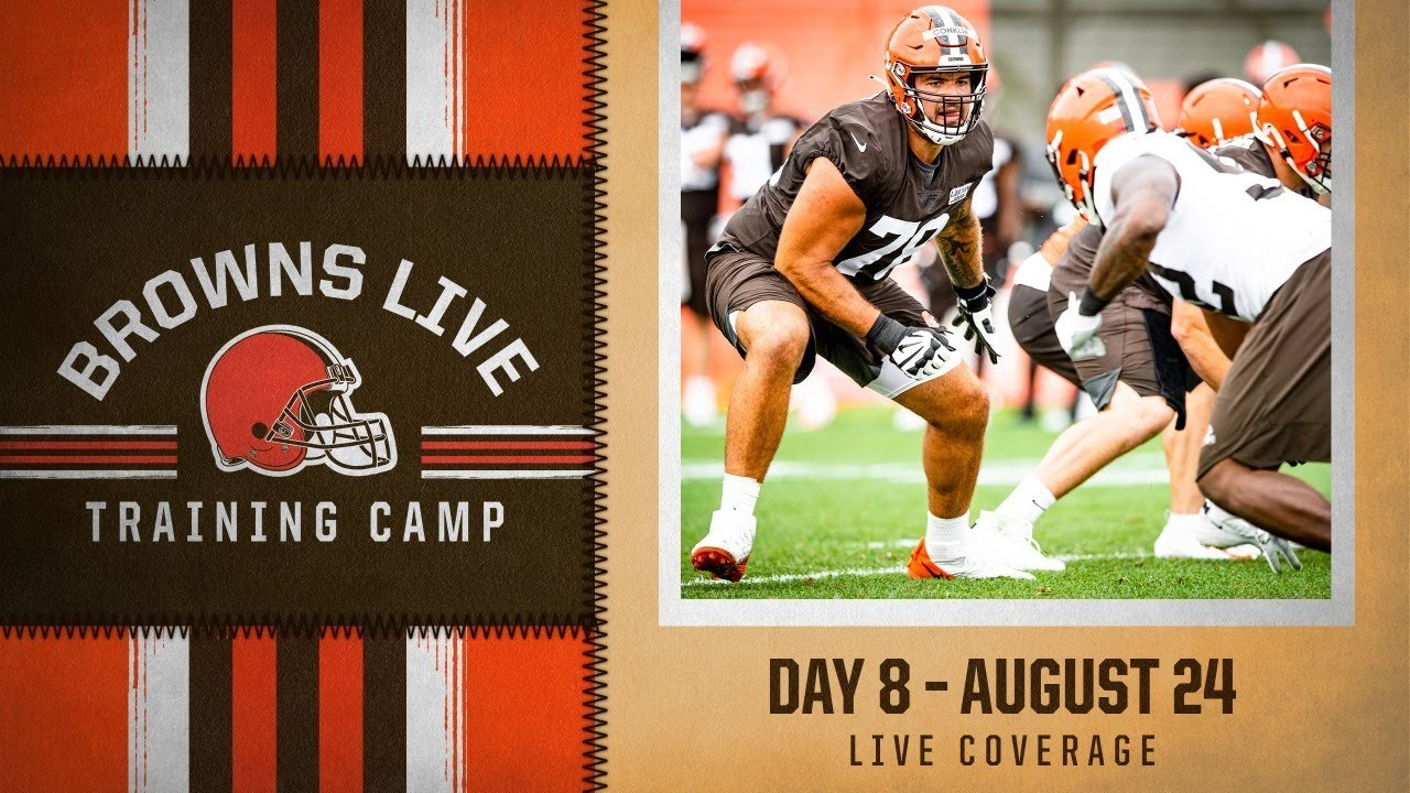 Browns Live: Training Camp Day 9 - REPLAY