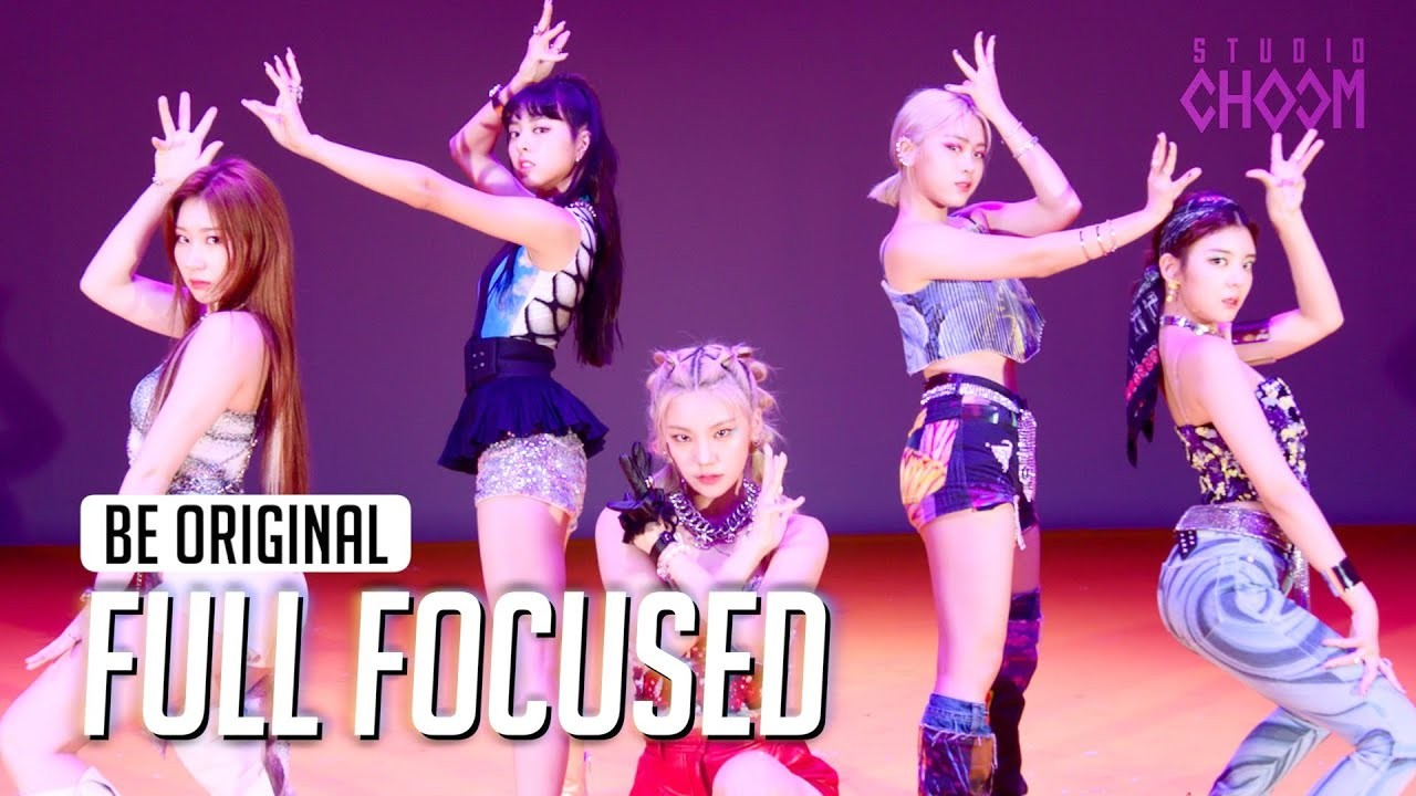 (Full Focused) ITZY(있지) 'Not Shy' 4K | BE ORIGINAL