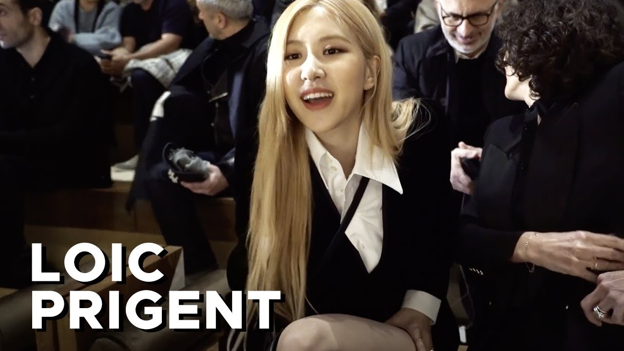 SAINT LAURENT: LATEX WITH BLACKPINK ROSÉ 로제 ! By Loic Prigent